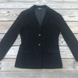 BCBG Maxazria Women Blazer Black Two Button